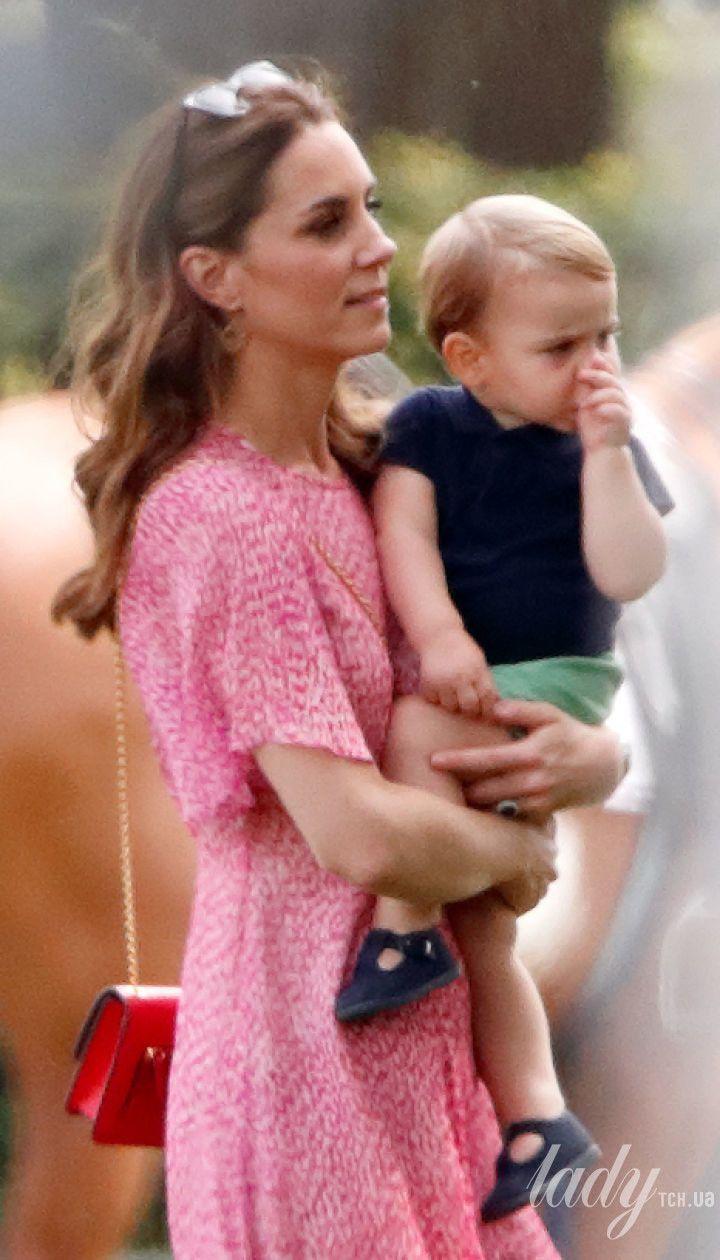 Принц Луи и его мама герцогиня Кэтрин