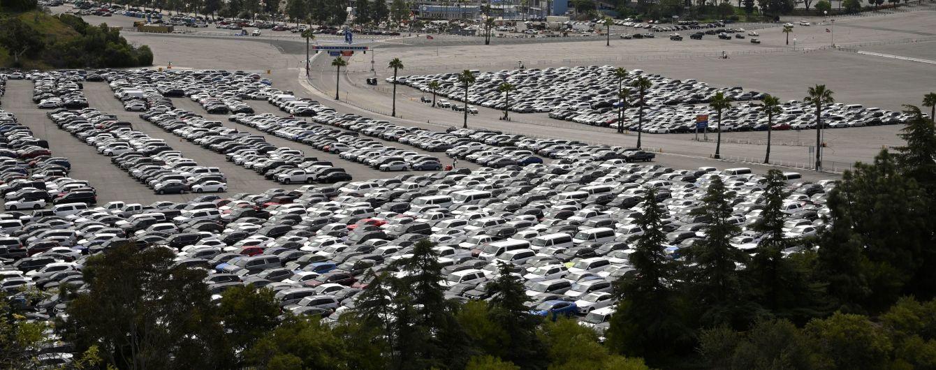 Ринок вживаних авто в США під час карантину скоротився на 20%