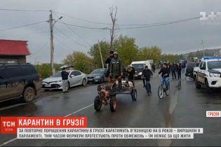 За нарушение карантина в Грузии будут наказывать тюрьмой на шесть лет
