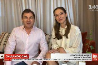 """Катерина Осадча і Юрій Горбунов розповіли про особливий формат фіналу шоу """"Голос країни"""""""