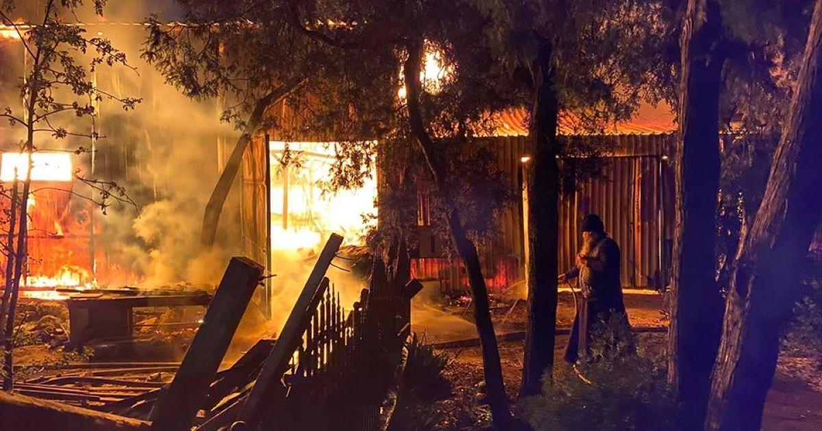 Полиция считает пожар в Одесском мужском монастыре поджогом