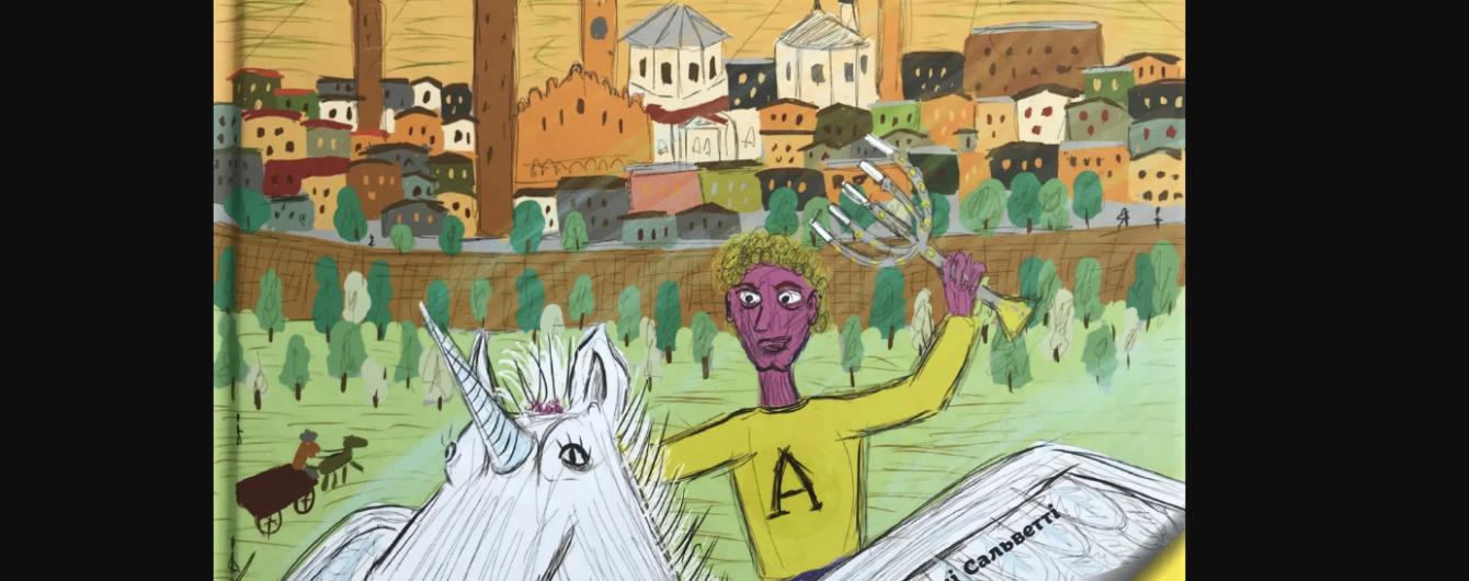 """Вийшла книга для дітей """"Артуро та єдиноріг"""", мета якої допомогти постраждалому від коронавірусу місту"""