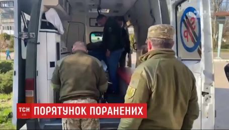 У Дніпрі рятують життя бійців, які дістали поранення біля селища Славне