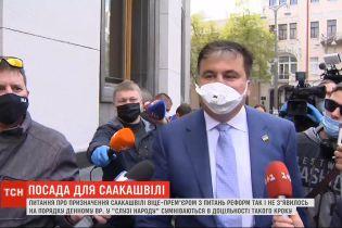 Вицепремьер по вопросам реформ - Саакашвили убеждал правительство, ему следует занять эту должность