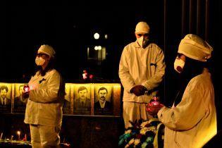 34-та ніч пам'яті: у Славутичі вшанували ліквідаторів ядерного вибуху на Чорнобильській АЕС