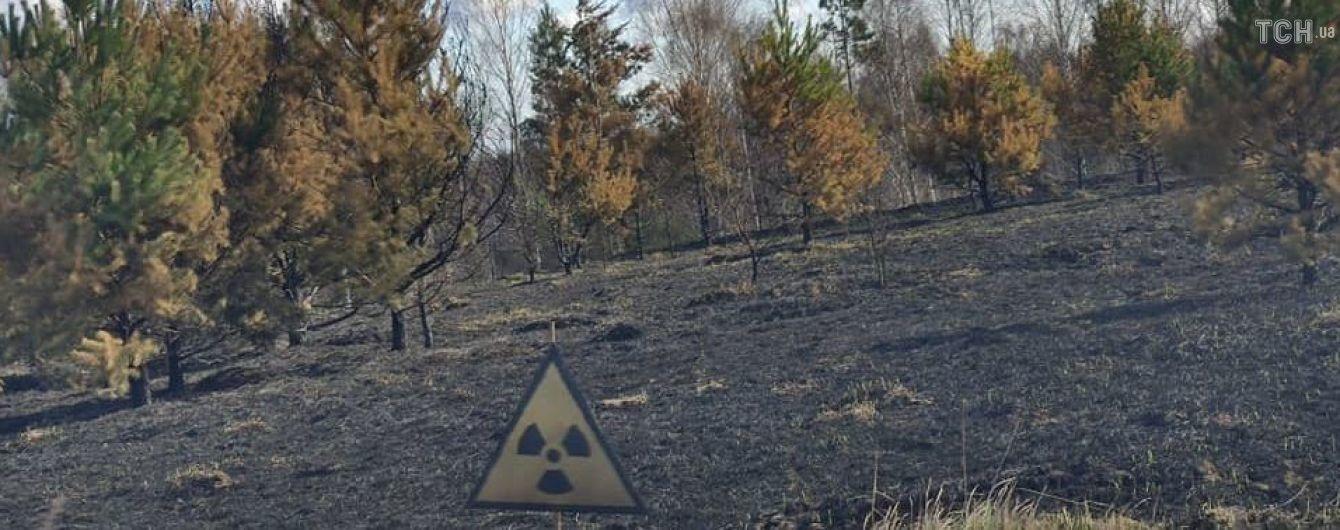 У Чорнобильській зоні триває ліквідація осередків тління