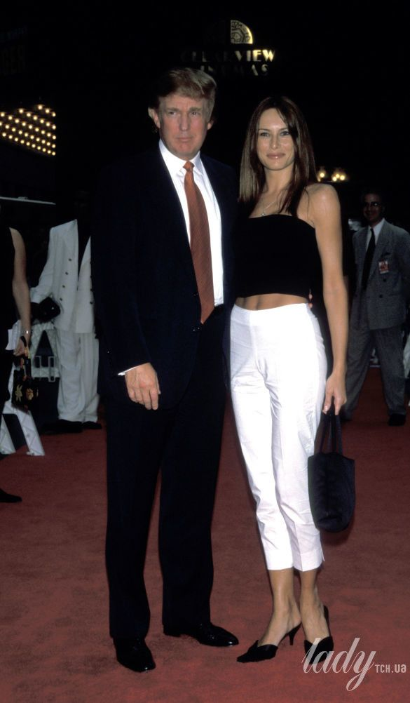 Дональд Трамп и Мелания Кнавс