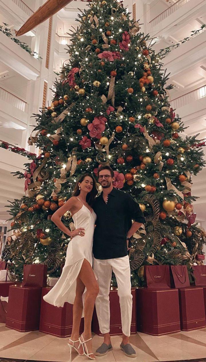 Олеся Стефанко с мужем
