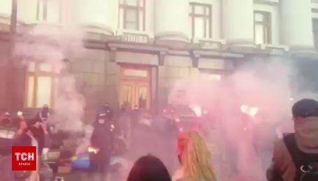 Під Офісом президента протестують проти завершення слідства у справі Гандзюк