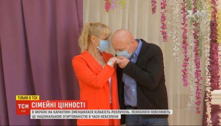 В Украине на карантине уменьшилось количество разводов