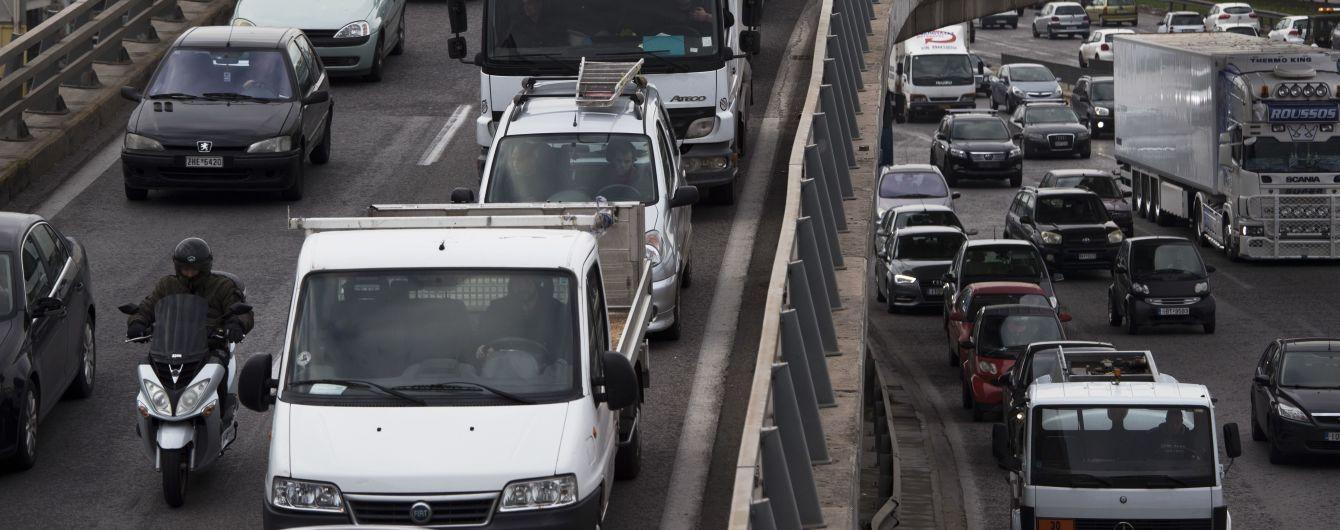 Київ заполонили затори: ситуація на дорогах станом на 14 травня
