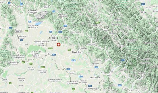 Біля Ужгорода зафіксували землетрус