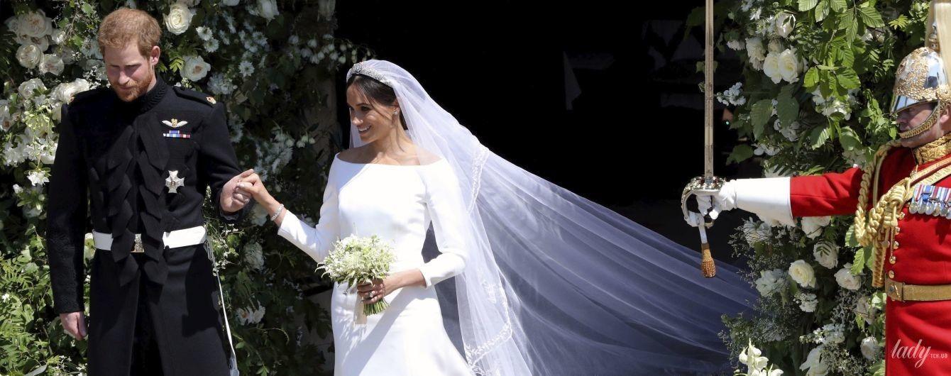 Весільна сукня Меган: дизайнерка розкрила секрети створення вбрання для герцогині Сассекської