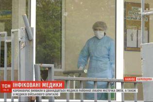 У Харківській області коронавірусом інфікувалися медики лікарні та військового шпиталю