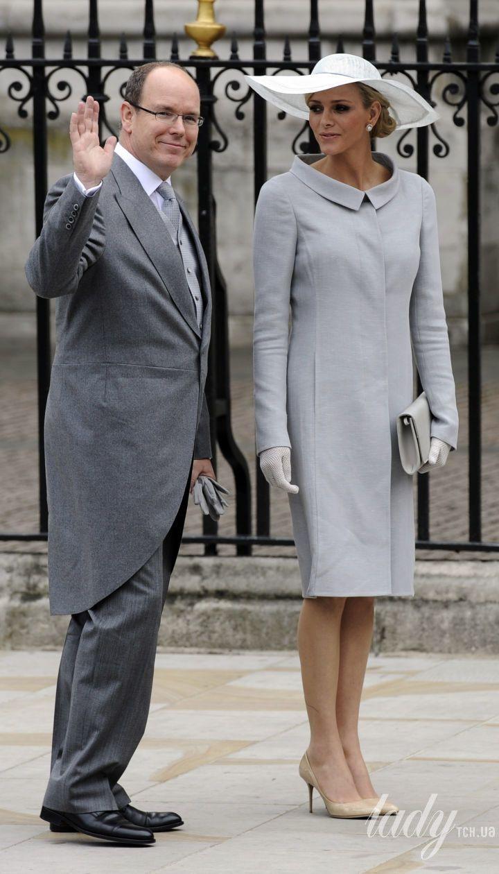 Князь Альбер II и княгиня Шарлин