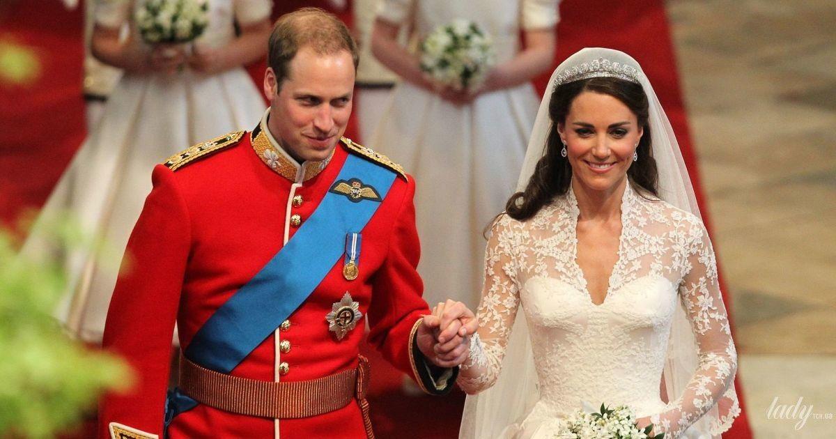 """Десять лет со дня свадьбы: вспоминаем, как Кейт Миддлтон сказала """"да"""" принцу Уильяму"""