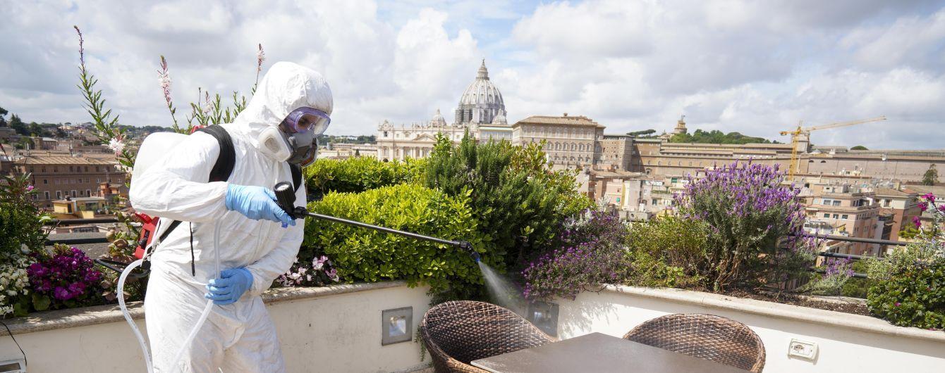 Італія продовжує вихід із карантину: від 18 травня в країні відкриються бари та ресторани