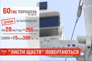 """Українським водіям з травня почнуть надходити """"листи щастя"""""""