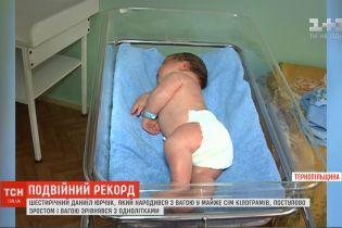 Найважча дитина України: як зараз живе хлопчик, який при народженні важив майже 7 кілограмів