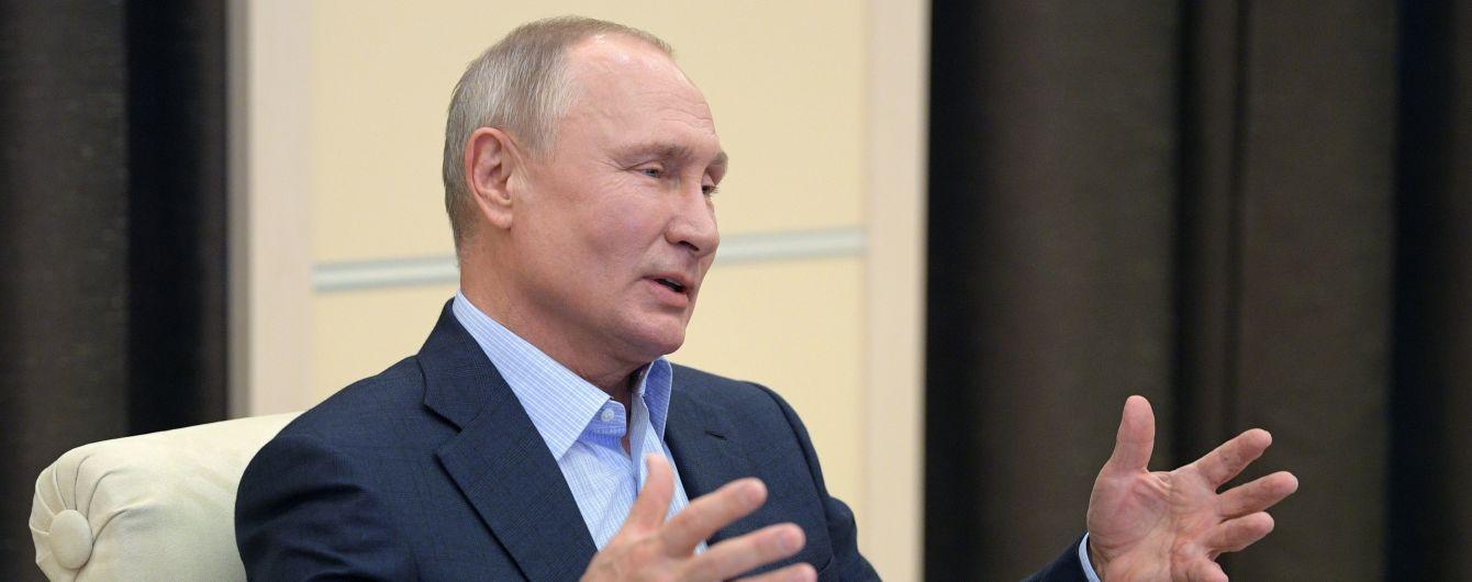 Путін прокоментував січневу заяву Зеленського щодо провини СРСР у розв'язанні Другої світової