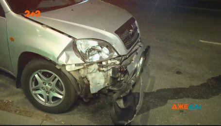 Громкое ДТП на проспекте Палладина: водитель Audi не заметил красный свет