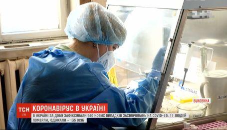 По количеству выявленных инфицированных коронавирусом в Украине лидирует Буковина