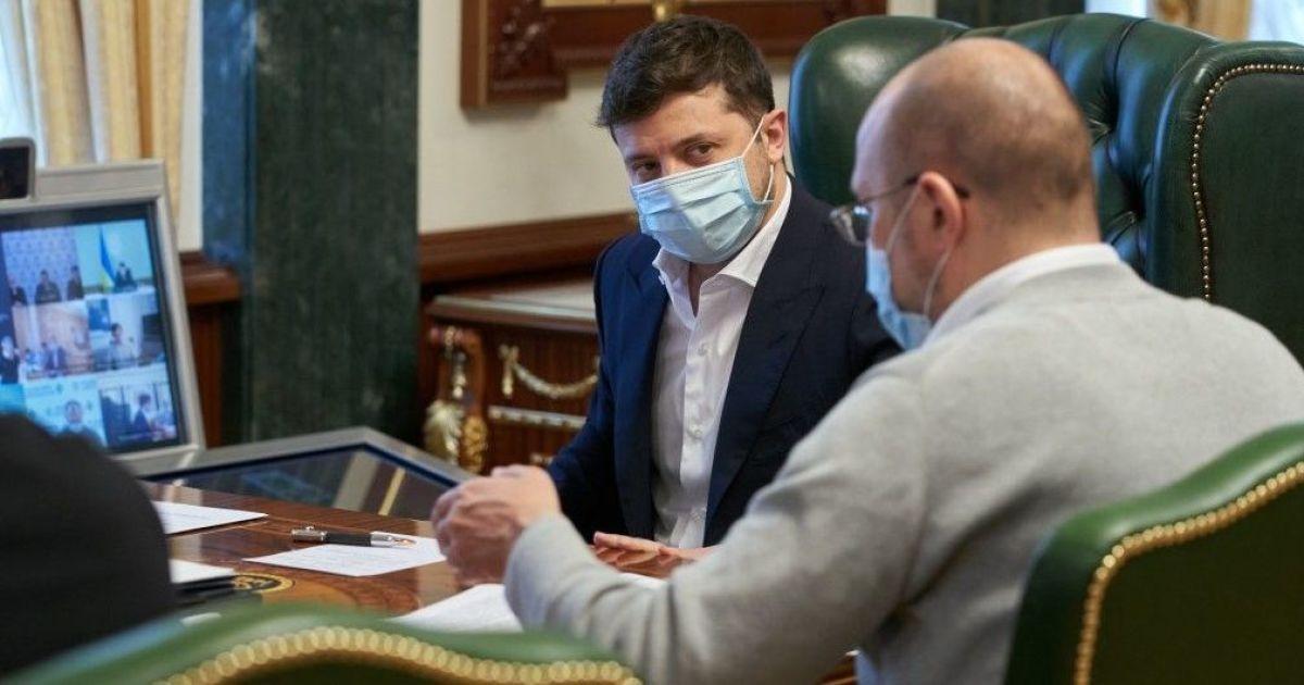 Зеленский и Шмыгаль обсудили, как облегчить ведение бизнеса для предпринимателей — планируется законопроект