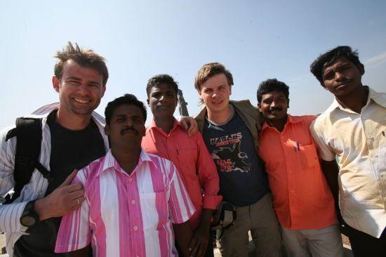 Дмитро Комаров показав себе 24-річного під час першої подорожі до Індії