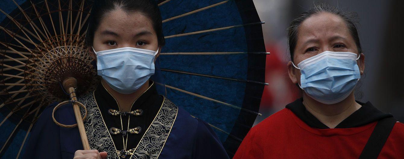 У Китаї від коронавірусу лікуються понад вісім десятків пацієнтів