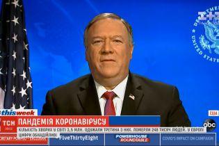 Китай сделал все, чтобы мир вовремя не узнал о коронавирусе - госсекретарь США Майк Помпео