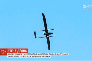 Латвия закрыла воздушное пространство из-за исчезновения беспилотника