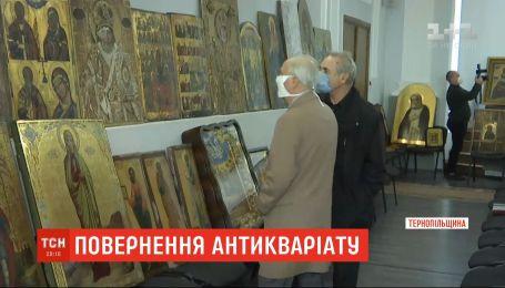 Правоохоронці просять священників розпізнати викрадені з церков ікони, які вилучили у злодіїв