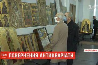 Правоохранители просят священников распознать похищенные из церквей иконы, которые изъяли у воров