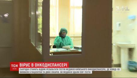 Результаты тестов других врачей: в Киевском онкодиспансере COVID-19 обнаружили у пациентки и 2 медиков