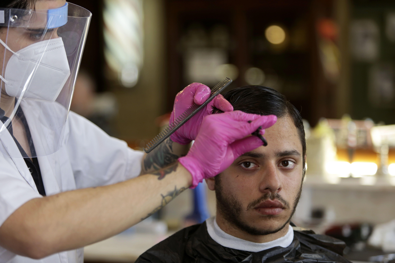 карантин, салон краси, перукар