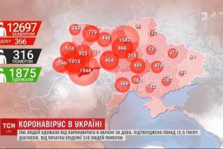 Позитивна динаміка: за добу від коронавірусу в Україні одужали 256 людей