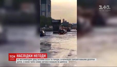 В Винницкой области во время ливня погиб 49-летний мужчина