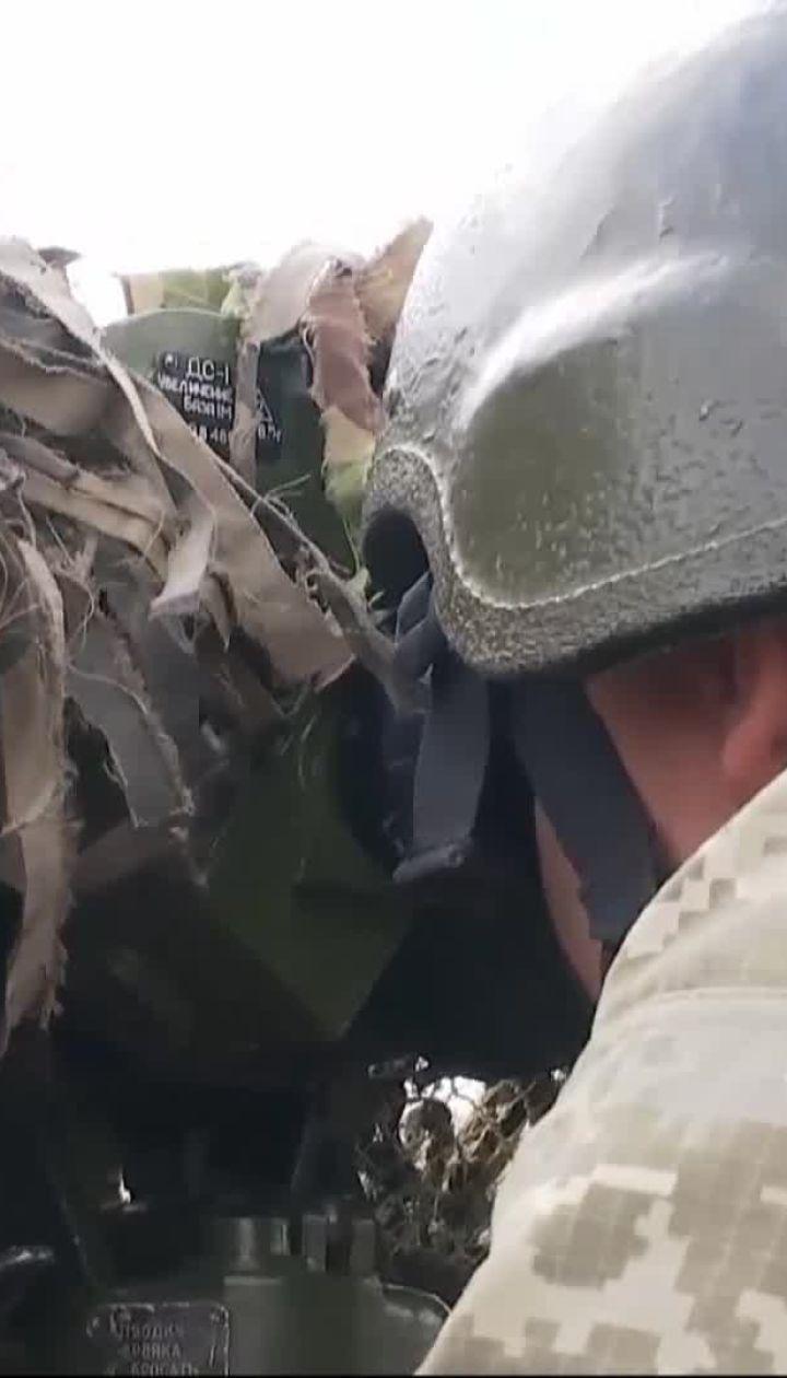 Боевики обстреливают населенные пункты на Донбассе