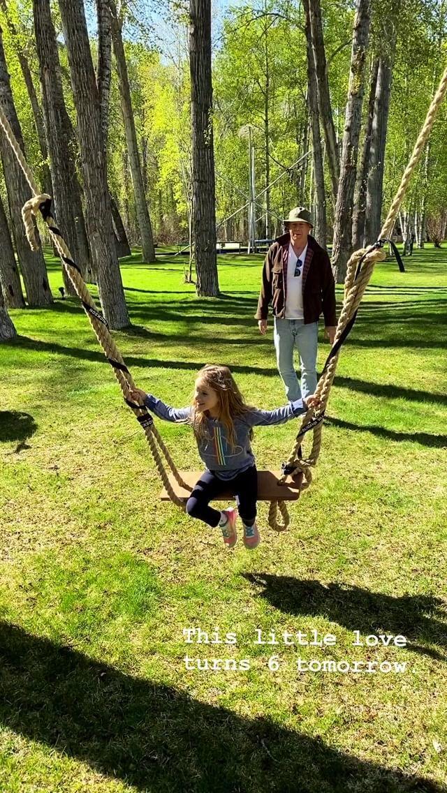Брюс Вілліс з дочкою