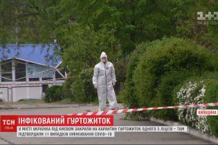 Коронавірус в гуртожитку Українки: що відомо про стан інфікованих