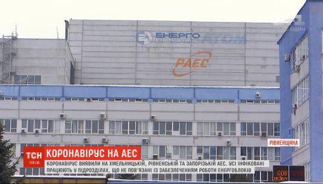 Коронавирус обнаружили на Хмельницкой, Ровенской и Запорожской АЭС