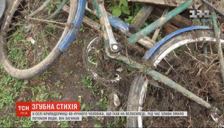 Через зливу загинув 49-річний чоловік у Вінницькій області