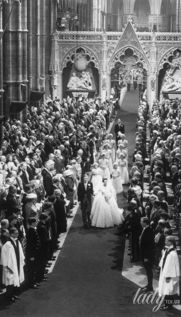 Принцеса Маргарет і Ентоні Армстронг-Джонс