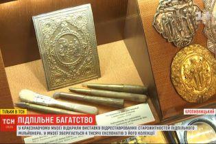 У Кропивницькому відкрили виставку відреставрованих старожитностей підпільного мільйонера