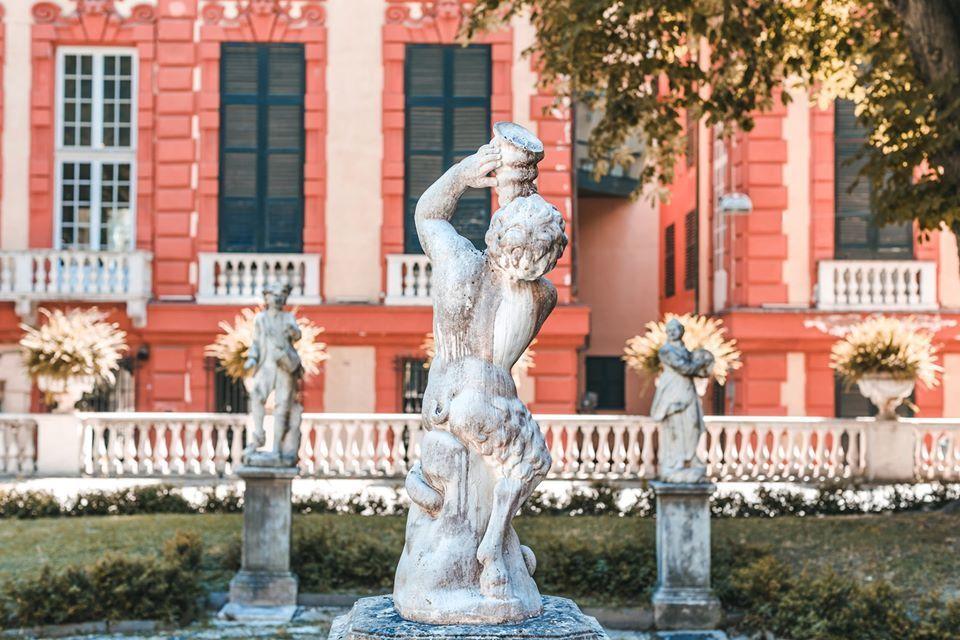 Генуя, палац