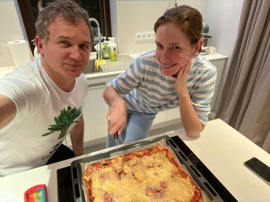 Юрій Горбунов похизувався кулінарними здібностями Катерини Осадчої