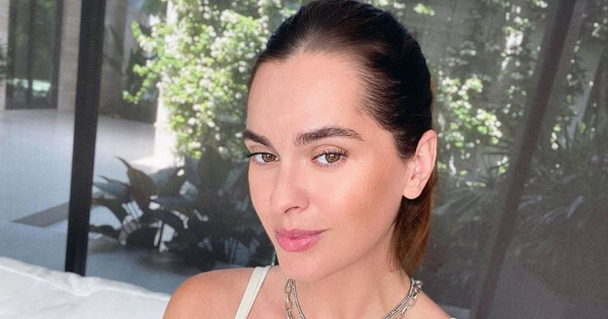 Хороші новини: Олеся Стефанко народила первістка і показала перше фото з пологового будинку