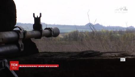 Обострение на фронте: боевики более двадцати раз открывали огонь