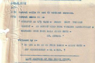 """""""Здесь нет сигарет"""": в Британии показали последнюю радиограмму нацистов"""