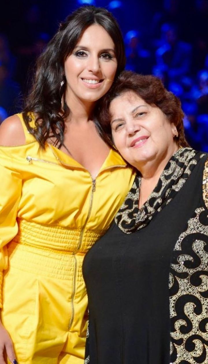 Джамала с мамой